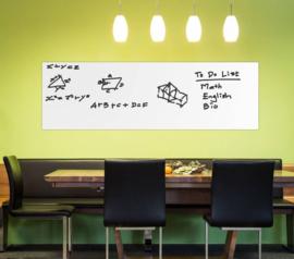 Krijtbord bord sticker muursticker deur + KRIJT 45x200CM *ZWART*