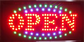 OPEN LED bord lamp verlichting lichtbak reclamebord #B11