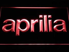 Aprilia neon bord lamp LED 3D cafe verlichting reclame lichtbak