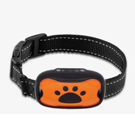 Vibratie anti blafband diervriendelijk trilling hond honden *oranje*