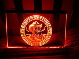 Sonnema neon bord lamp LED 3D verlichting reclame lichtbak bier #2