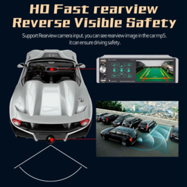4.1 inch 1 din 1din autoradio bluetooth fm auto radio usb sd TOUCHSCREEN