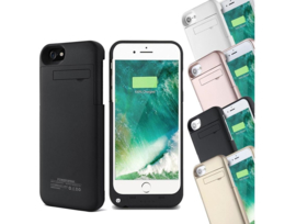 Iphone X XS batterij oplader case hoes cover accu powerbank