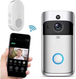 Video wifi deurbel bel intercom bel HD camera + CHIME EKEN V5 APP