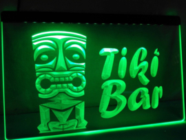 Tikibar tiki bar neon bord lamp LED verlichting reclame lichtbak