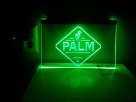 Palm neon bord lamp LED 3D cafe verlichting reclame lichtbak
