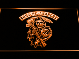 Sons of anarchy neon bord lamp LED 3D cafe verlichting reclame lichtbak