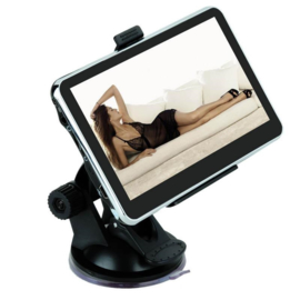 Navigatie 5 inch auto GPS 4GB FM mp3 mp4 touchscreen + AV-in