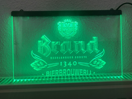 Brand bier neon bord lamp LED cafe verlichting reclame lichtbak