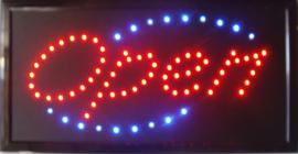OPEN LED bord lamp verlichting lichtbak reclamebord #C5