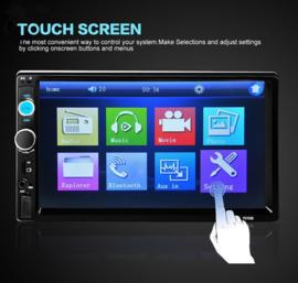 Autoradio Full HD auto radio 7 inch 2 DIN bluetooth USB MP5 FM AUX radio SD #1