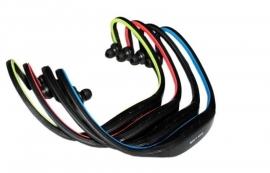 Sport MP3 speler headset in-ear koptelefoon SD kaart draadloos wireless  *4 kleuren*