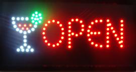 OPEN lamp LED verlichting reclame bord lichtbak #B3