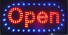 OPEN LED bord lamp verlichting lichtbak reclamebord #C17
