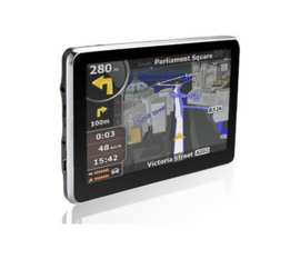 Navigatie 5 inch auto GPS 4GB FM mp3 mp4 touchscreen + AV-in