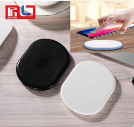 Draadloze oplader opladen pad draadloos lader wireless ZWART & WIT