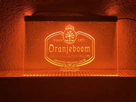 Oranjeboom neon bord lamp LED 3D verlichting reclame lichtbak bier