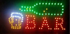 Beer bar drank cafe LED bord lamp verlichting lichtbak reclamebord #C7