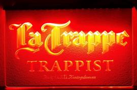 La Trappe neon bord lamp LED 3D cafe verlichting reclame lichtbak *oranje*