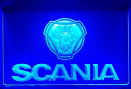 Scania neon bord lamp LED verlichting reclame lichtbak XL *40x30cm* #1