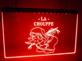 La chouffe neon bord lamp LED 3D verlichting reclame lichtbak bier