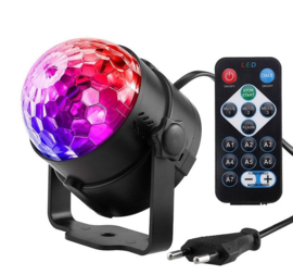 Disco bal bol verlichting licht LED lamp + VOICE & AFST. RGB