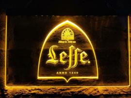 Leffe neon bord lamp LED 3D verlichting reclame lichtbak bier