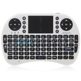 Mini wireless draadloos toetsenbord + muis Rii I8 keyboard *WIT*