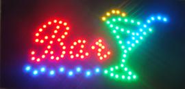 Bar cafe broodjes LED bord lamp verlichting lichtbak reclamebord #B2