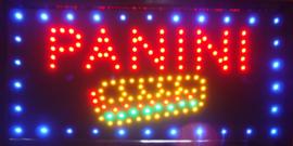 Panini broodjes LED bord lamp verlichting lichtbak reclamebord #C6