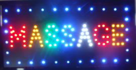 Massage LED bord lamp verlichting lichtbak reclamebord #B