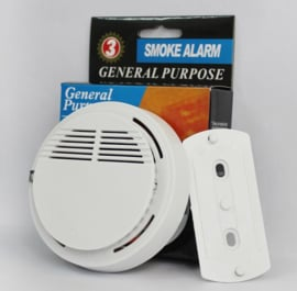 Rookmelder rook melder brandalarm brand alarm draadloos