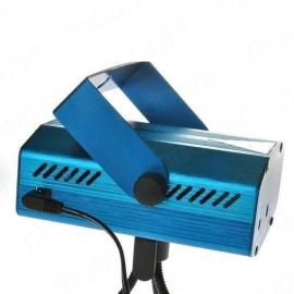 Mini laser show rood groen flash projector led disco *BLAUW*