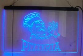 Pizzeria neon bord lamp LED 3D cafe verlichting reclame lichtbak