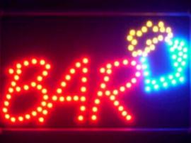 Bar drank cafe LED bord lamp verlichting lichtbak reclamebord #barK