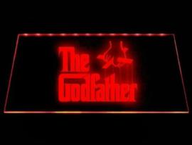 The Godfather neon bord lamp LED verlichting reclame lichtbak