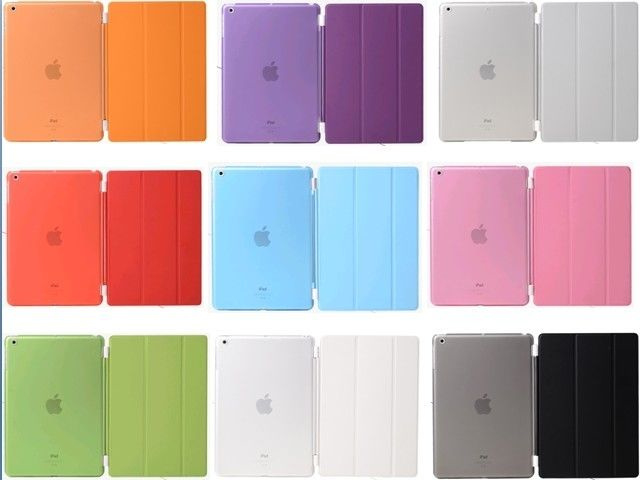 Smartcase + back cover ipad AIR 1 2 2018 case hoes sleeve *10 kleuren*