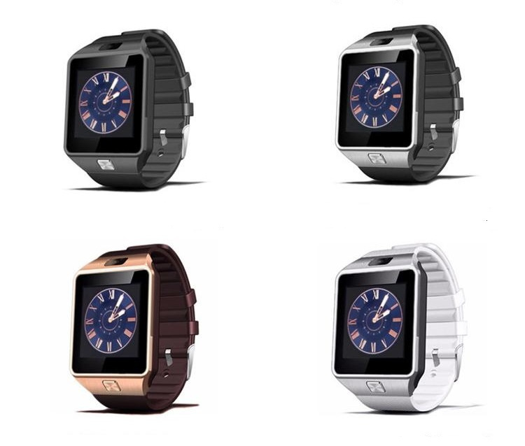 Smartwatch Smart Watch Bluetooth Sim horloge android IOS *4 kleuren* #2