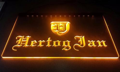 Hertog Jan neon bord lamp LED verlichting reclame lichtbak
