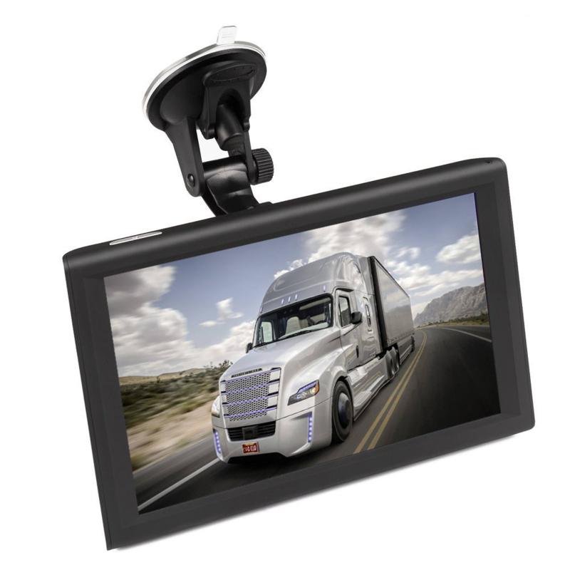 Navigatie 9 inch auto GPS touchscreen 8GB Full HD USB *Europa* + bluetooth/av-in