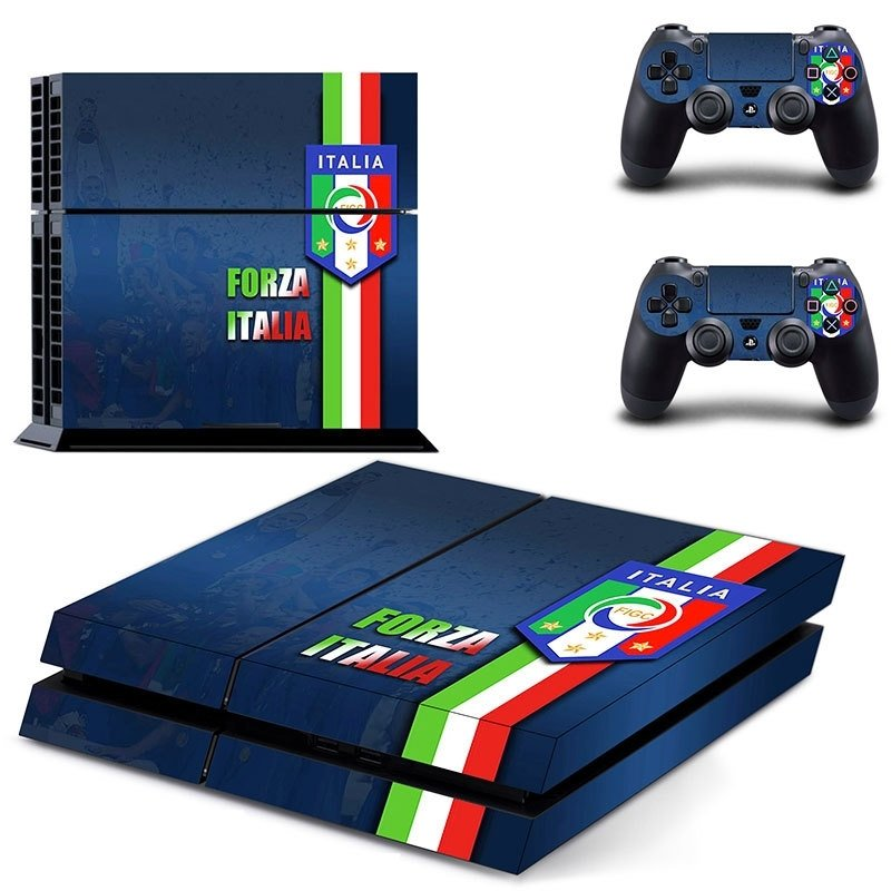 156 Sticker skin wrap ps4 stickers playstation 4 + 2x controller