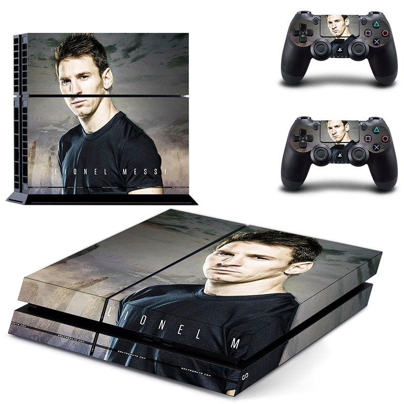 117 Sticker skin wrap ps4 stickers playstation 4 + 2x controller
