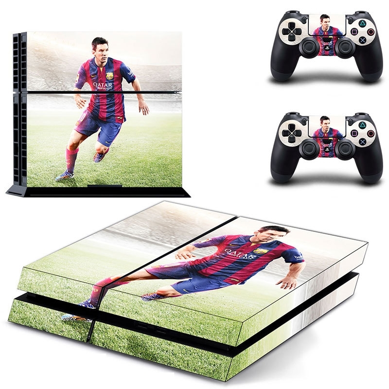 40 Sticker skin wrap ps4 stickers playstation 4 + 2x controller
