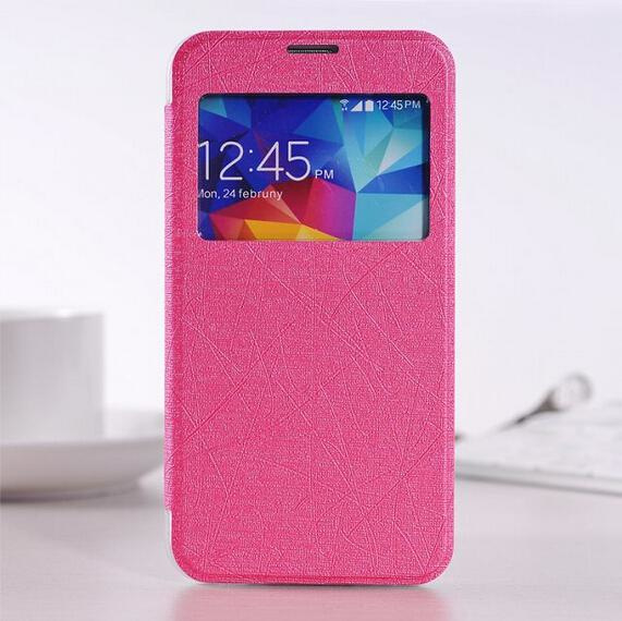 Sview s-view case hoesje hoes samsung galaxy S5 I9600 *roze*