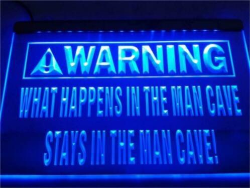 Mancave neon bord lamp LED cafe verlichting reclame lichtbak #2
