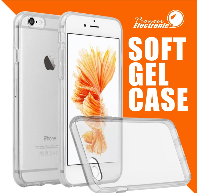 Ultra dun case hoes transparant siliconen gel hoesje Iphone 7