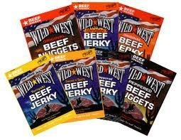 Beef Jerky Mixed Valuepack 10 x 25 gram