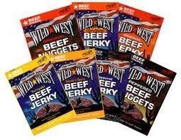 Beef Jerky Mixed Valuepack 10 x 25 gram