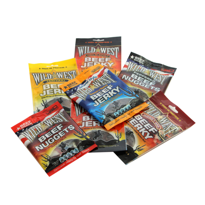 Beef Jerky Super Mixed Valuepack 24 x 25 gram