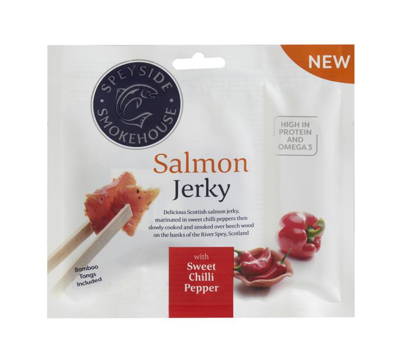 Salmon Jerky Chilli 30 gram